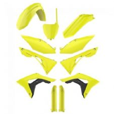 CRF 450 R 17-18 CRF 250 R 18 Neon Flo Yellow Plastic Kit Plastics Fork Guards